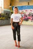 Nailstuff T-Shirt Ronde Hals Wit