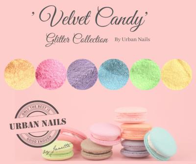 Velvet Candy Glitter Collection