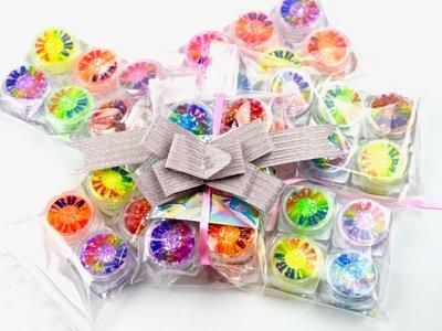 Random Glitter Line 6 Pieces