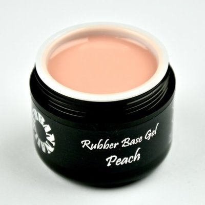Rubber Base Gel Peach 30G Pot