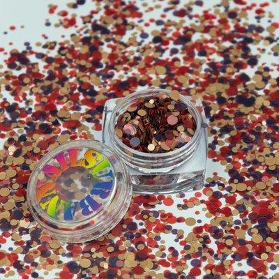 ROLY POLY 06 DARK PURPLE-RED-BEIGE
