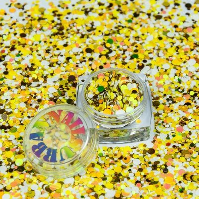ROLY POLY 12 WHITE-GOLD-YELLOW