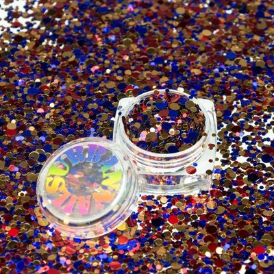 ROLY POLY 18 GOLD-RED-BLUE
