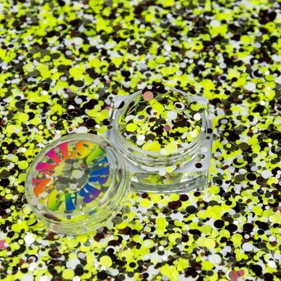 ROLY POLY 27 LIME GREEN-SILVER-BORDEAUX