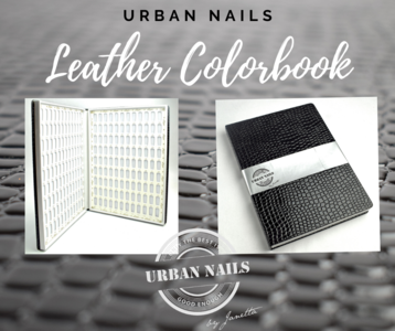 URBAN NAILS LEATHER COLORBOOK