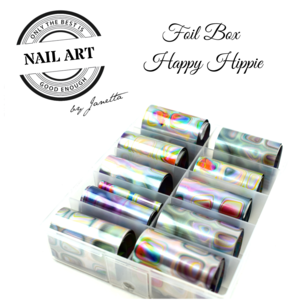 Foil Box Happy Hippie
